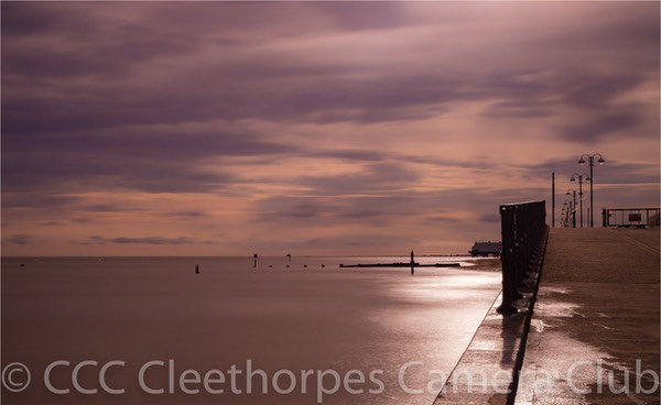 Morning light at Cleethorpes
